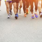 Sports Runners Legs Marathon