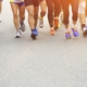 Sports Runners Legs Marathon