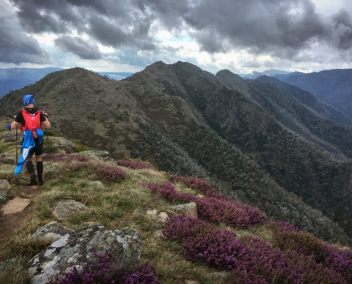 Ultra Runner in the Victorian Alps High Country