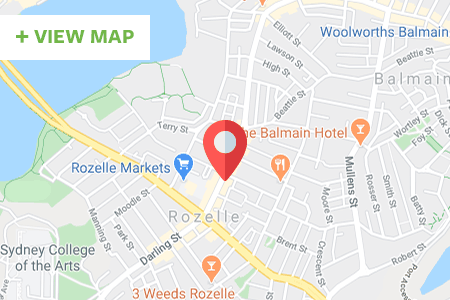 Pace Athletic Rozelle Map